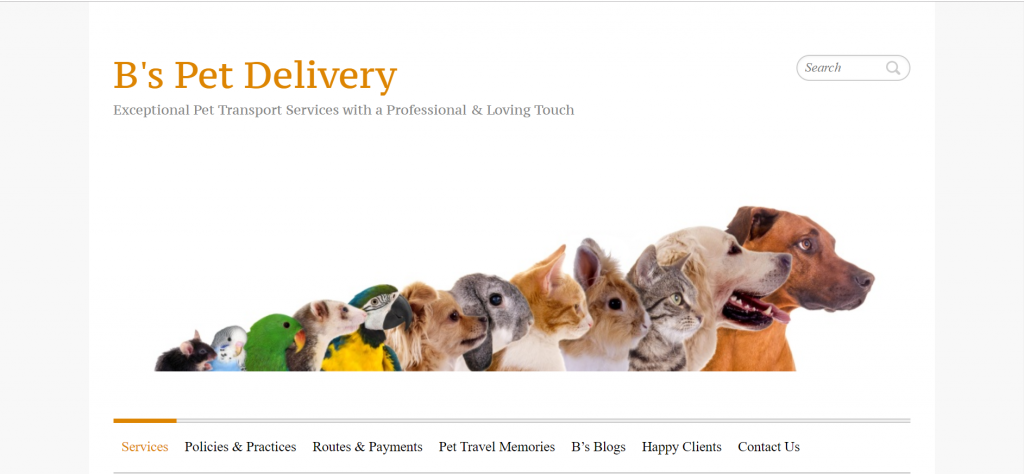 Pet Transportation & Moving